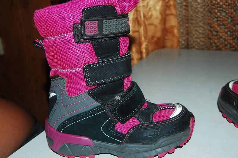 Зимние ботинки на девочку superfit 27 р