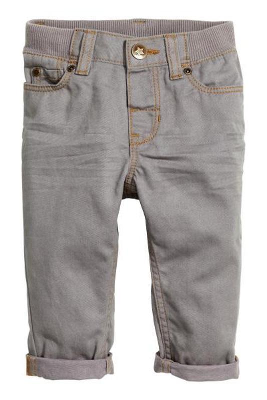 Твиловые брюки skinny fi