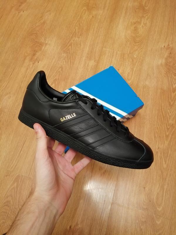 Adidas gazelle black   оригинальные кроссовки