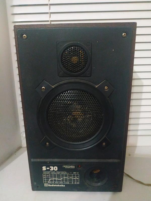 Акустическая система Radiotehnika S-30 10АС-222