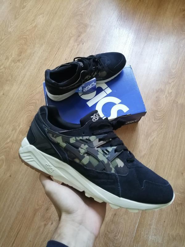 Asics gel kayano trainer black camo hl7c1   оригинальные кросс...