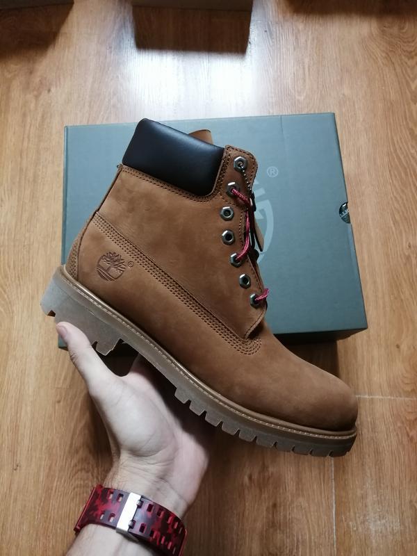 "Timberland 6-inch premium ""medium brown""   оригинальные ботинки"