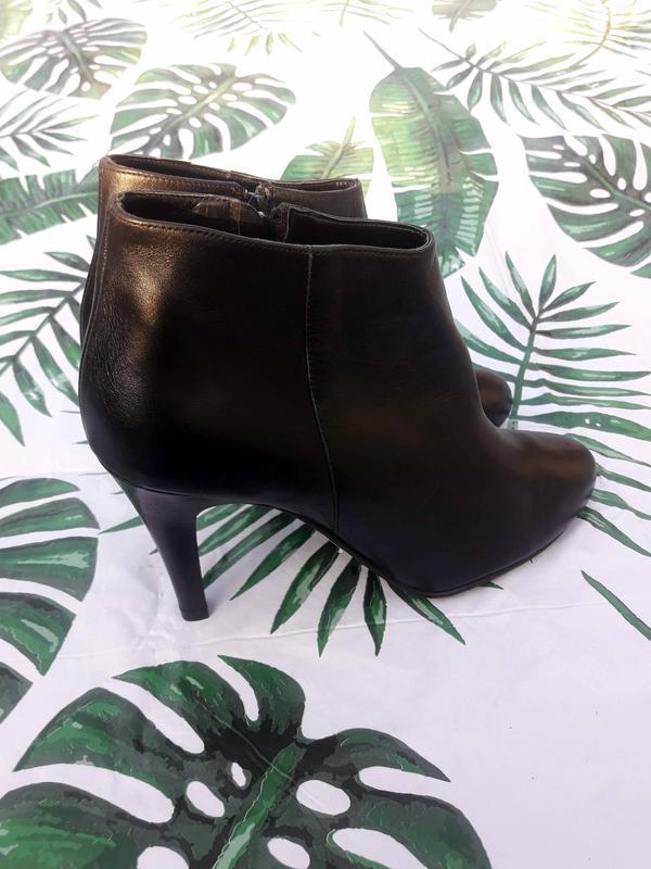 Ботильоны оригиналы из натуральной кожи, ботинки италия
