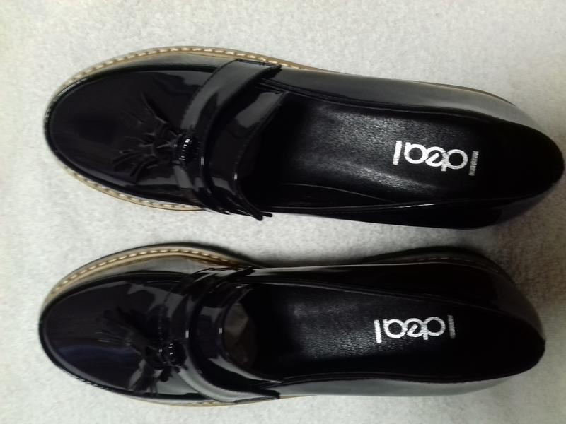 Лаковые туфли, лоферы . - Фото 2