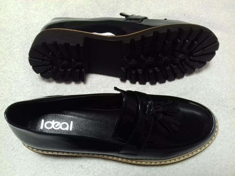 Лаковые туфли, лоферы . - Фото 4