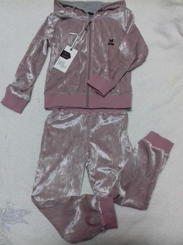 Велюровый костюмчик тм baby ange