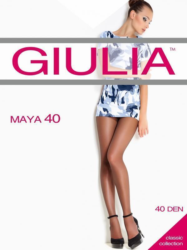 Акция! колготки giulia без шортиков 40 ден *р. 2*