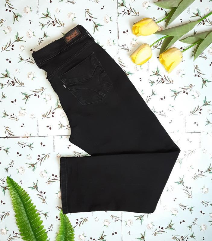 Фирменные черные плотные прямые мом mom джинсы levis оригинал,...