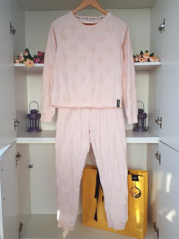 Хлопковая пижама mark and spencer