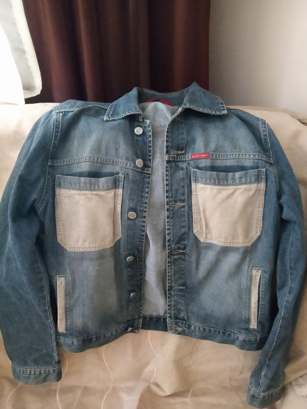 Легкая джинсовая курточка blue knight