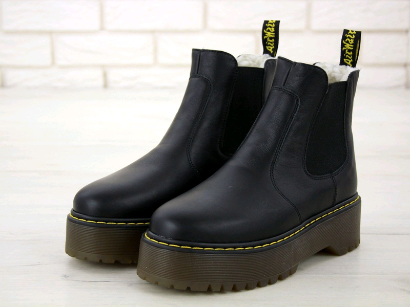 Ботинки Dr Martens Platform Chelsea (На Меху)