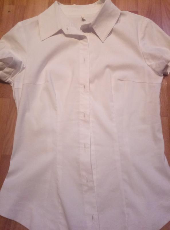 Белая блузка,рубашка