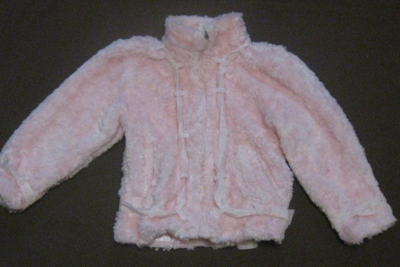 Шубка - курточка на девочку 2-5 лет. шикарная розовая шуба. бю...