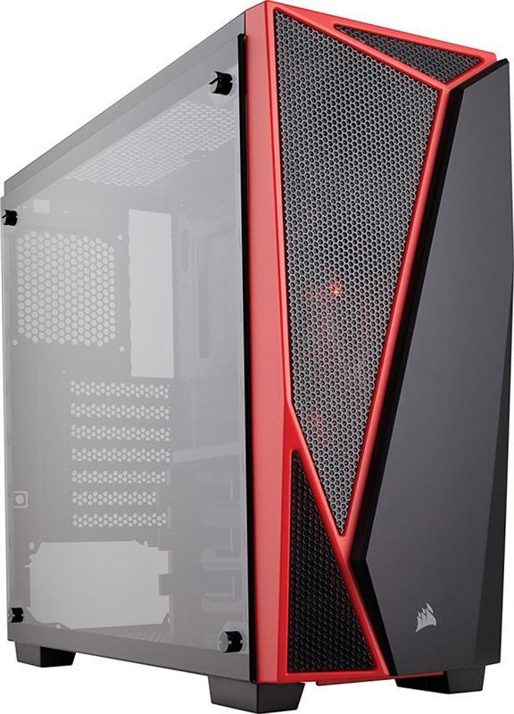 Корпус Corsair Carbide SPEC-04 Tempered Glass Black/Red (CC-90111