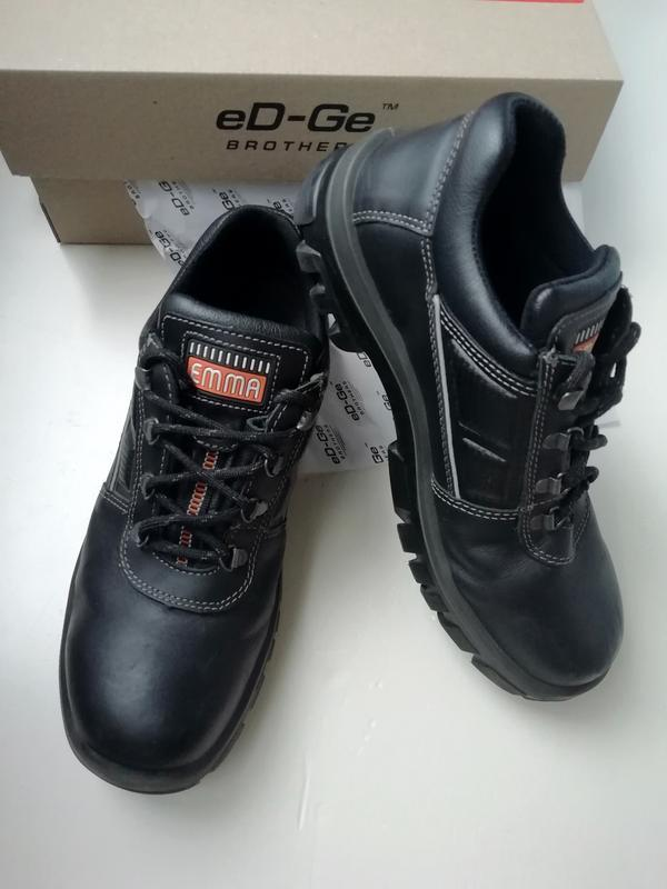 Защитные ботинки со стальным носком  - натуральная кожа, 43 р.