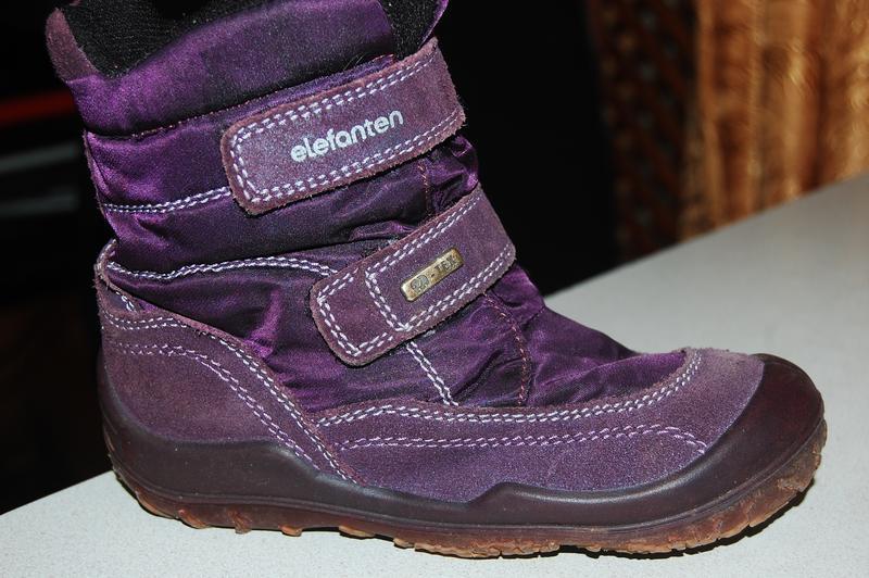 Зимние ботинки elefanten 28 размер
