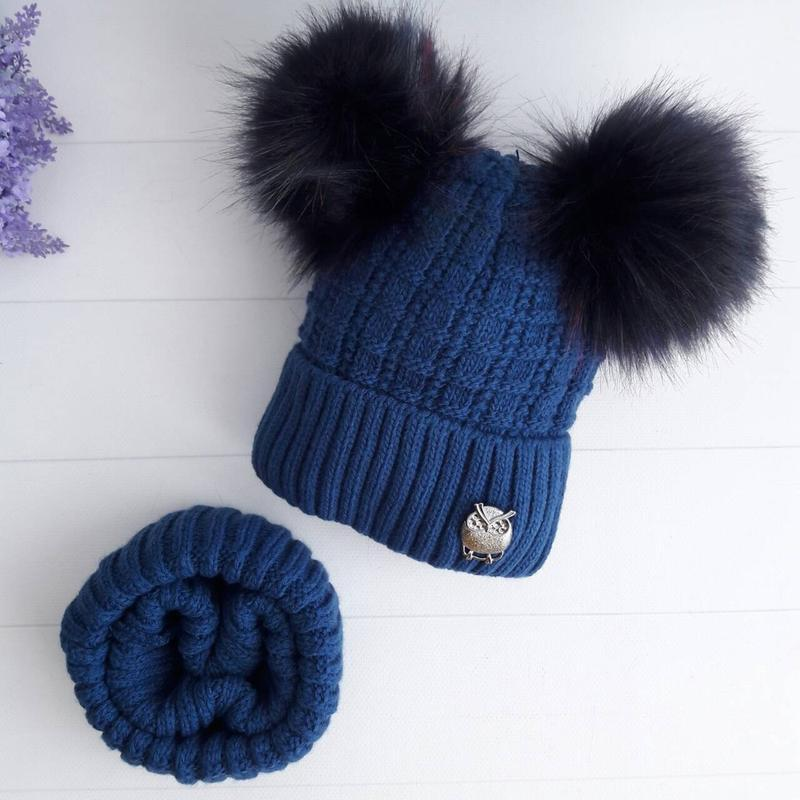 Комплект(шапка +хомут)