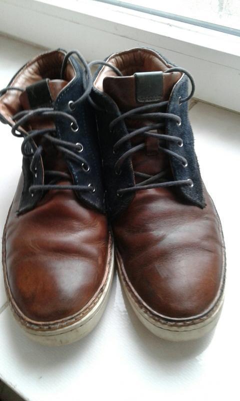 Спортивные ботинки кожа