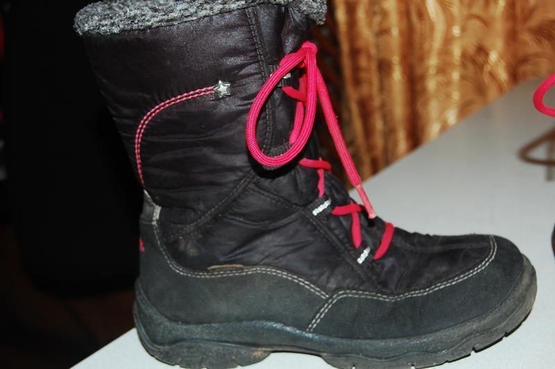Superfit зимние ботинки 32 р на девочку