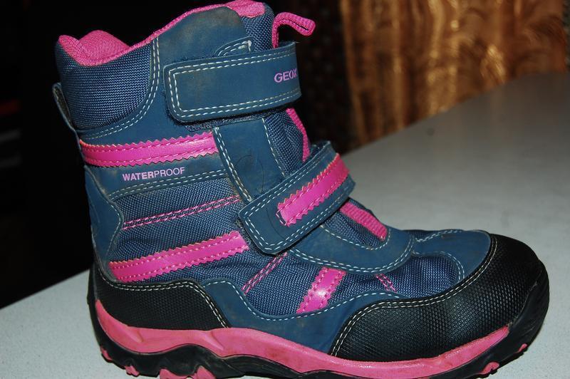 Geox зимние ботинки 31 р