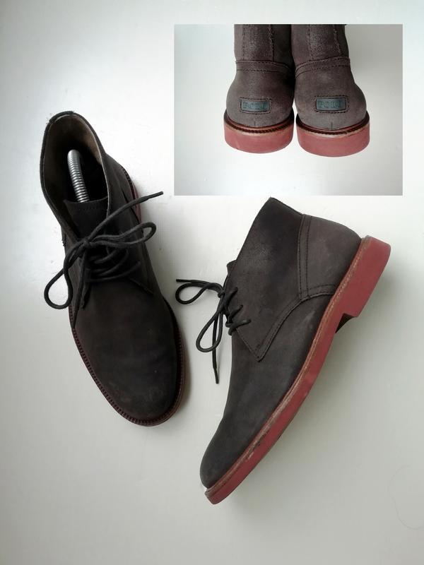 Мужские ботинки сша, натуральная кожа - 41 р.