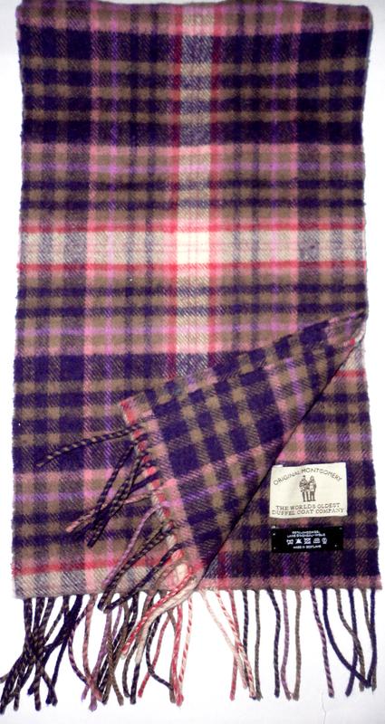 Шерстяной шарф 100% шерсть lambswool    165х23  в идеале