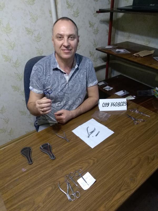 Заточка маникюрного и парикмахерского инструмента