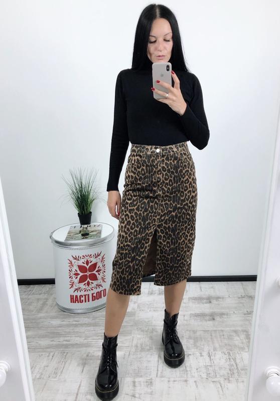 Трендовая юбка миди джинсовая джинс zara