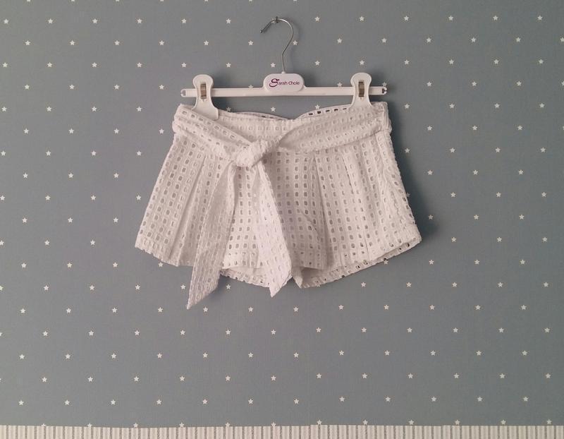 Короткие шорты-юбка to be too (италия) на 6-7 лет (размер 116-...