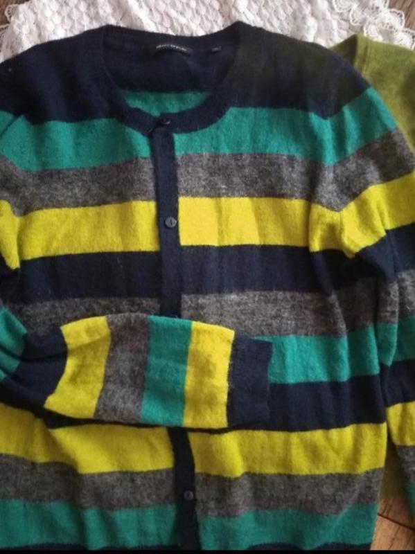 Шикарный кардиган свитер шерсть мохер mark o'polo