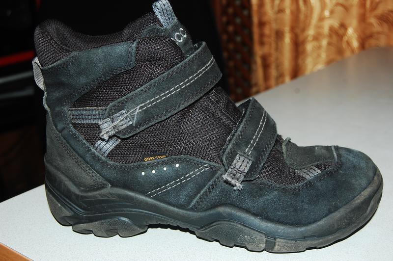 Зимние ботинки ecco 37 размер мальчик