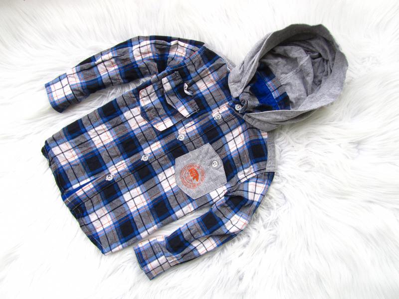 Качественная и стильная рубашка c капюшоном timberland
