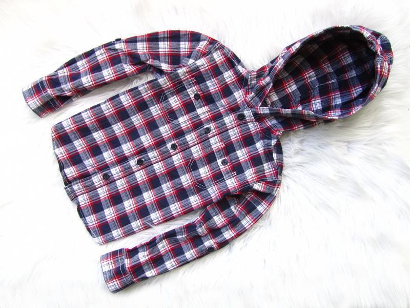 Качественная и стильная рубашка кофта реглан свитшот с капюшон...