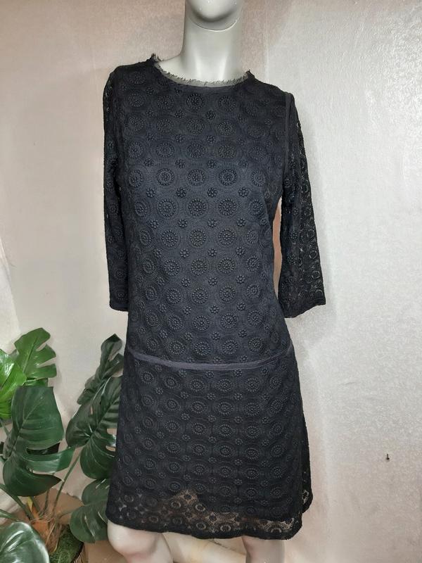 Ажурное платье франция