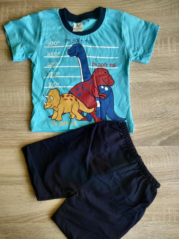 Комплект для мальчика, футболка, шорты,