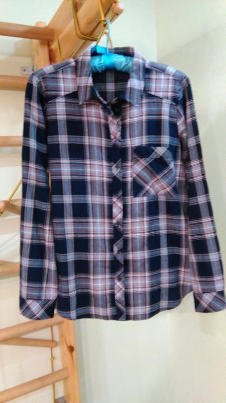 Мягкая хлопковая рубашка