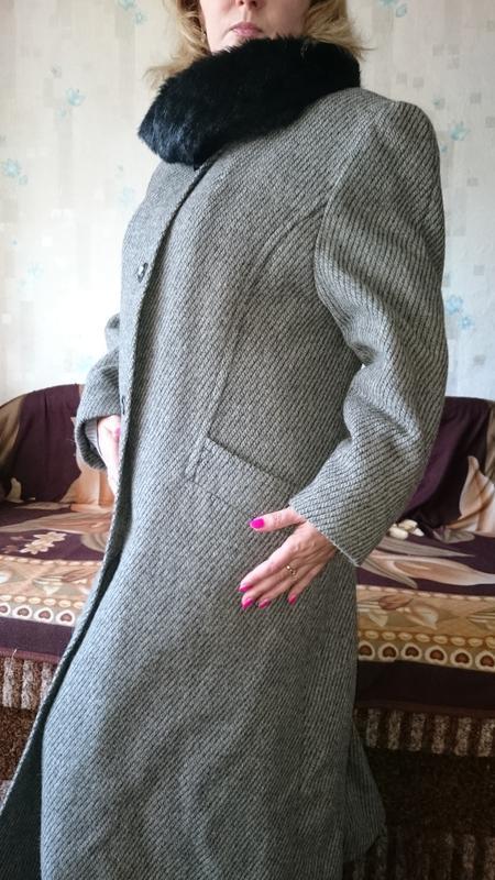 Пальто женское зимнее - Фото 2