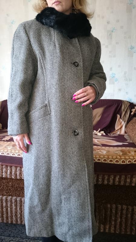 Пальто женское зимнее - Фото 4