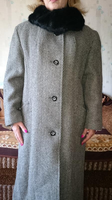 Пальто женское зимнее - Фото 7