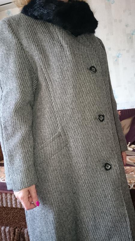 Пальто женское зимнее - Фото 8