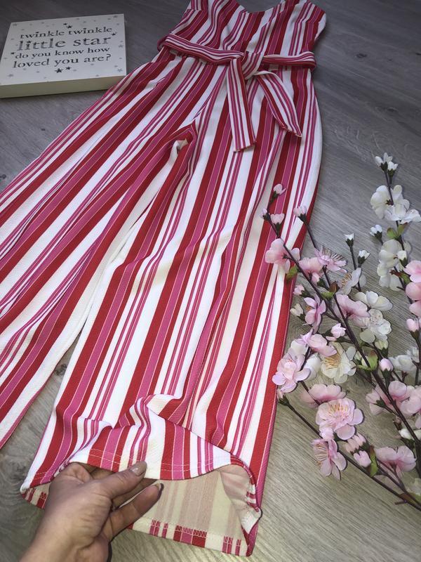 Очень стильный летний комбинезон, брюки кюлоты, укорочённые бр...