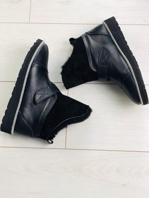 Lux обувь! шикарные натуральные зимние удобные сапоги угги