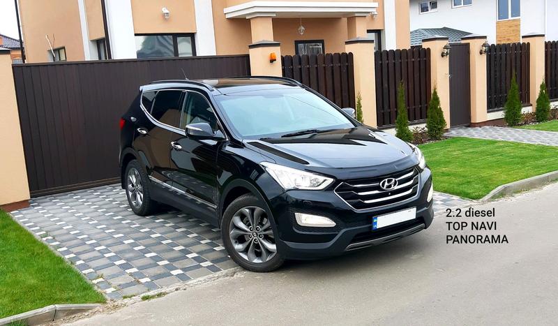 Hyundai Santa fe TOP NAVI PANORAMA