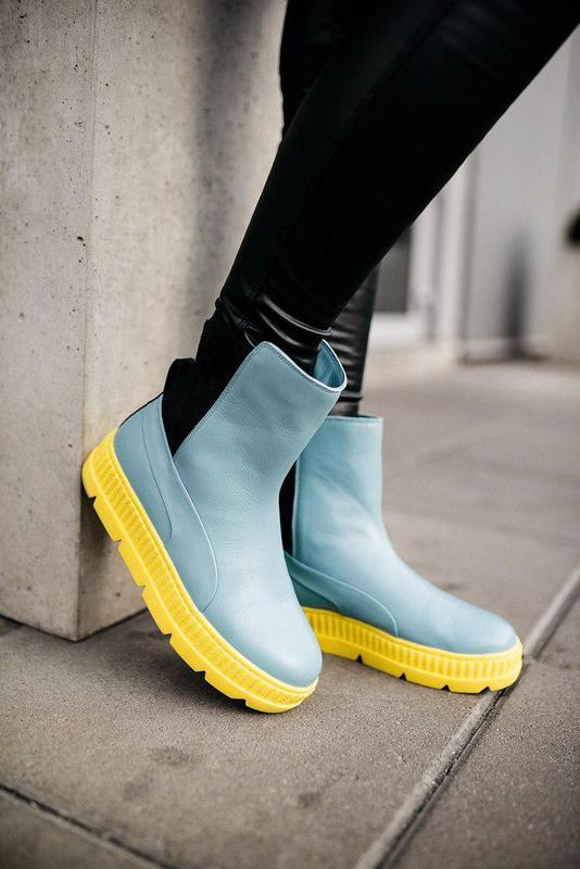 Ботинки женские puma by rihanna chelsea sneaker b00t
