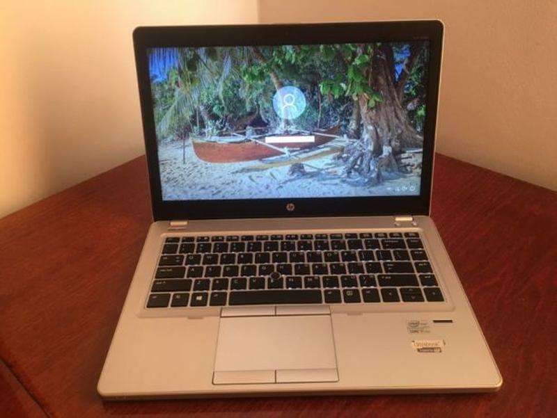 Ноутбук HP Elitebook Фоліо 9470m - Core i5 - 180GB SSD - 3G