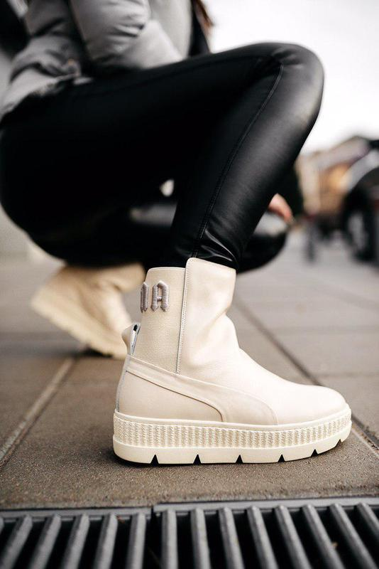 Ботинки женские puma by rihanna chelsea sneaker boot