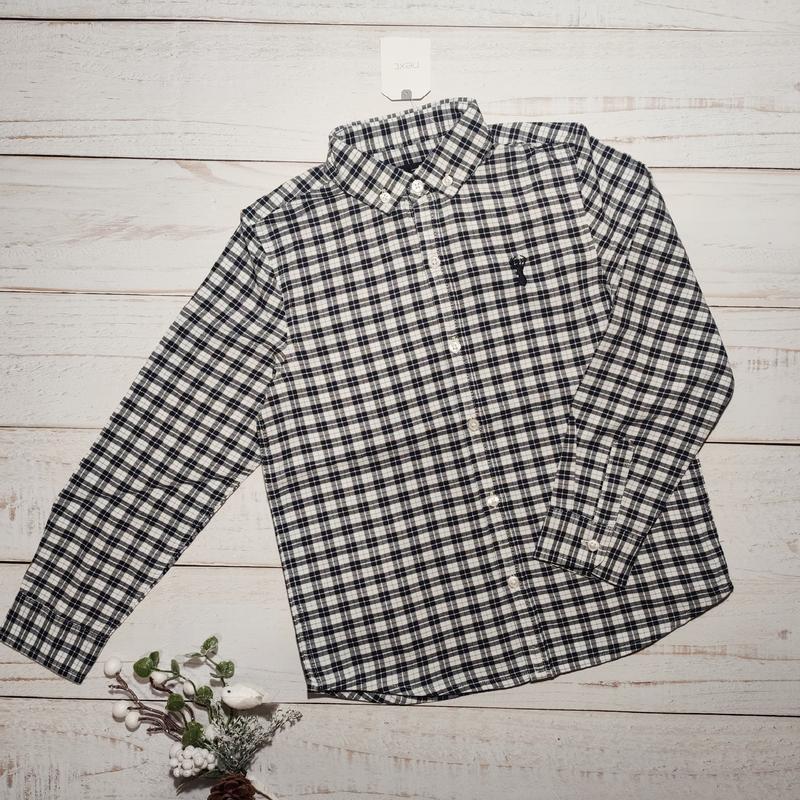 Рубашка next размер 122, 6-7 лет