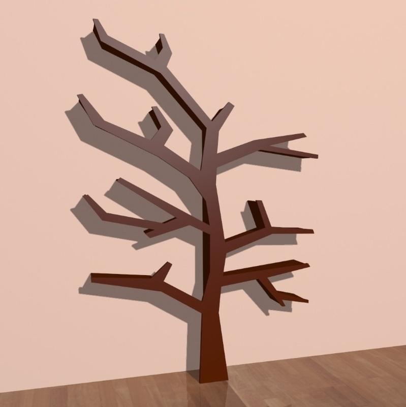 Полка-дерево, Tree Bookshelf - Фото 2