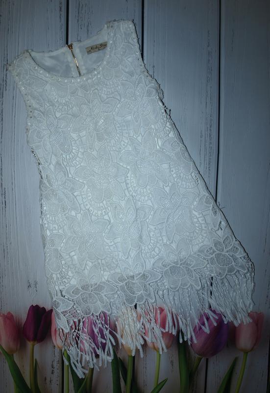Очень красивое нарядное платье kids star