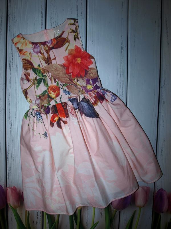 Очень красивое коттоновое платье next